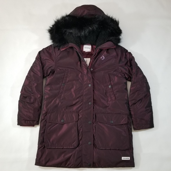 5665816db169 Converse Sideline Down Puffer Parka Jacket Womens